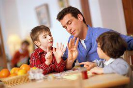 Homeschooling activities with a parent