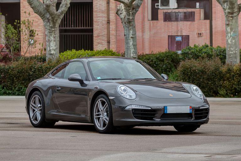 A 2017 Porsche 911 Carrera