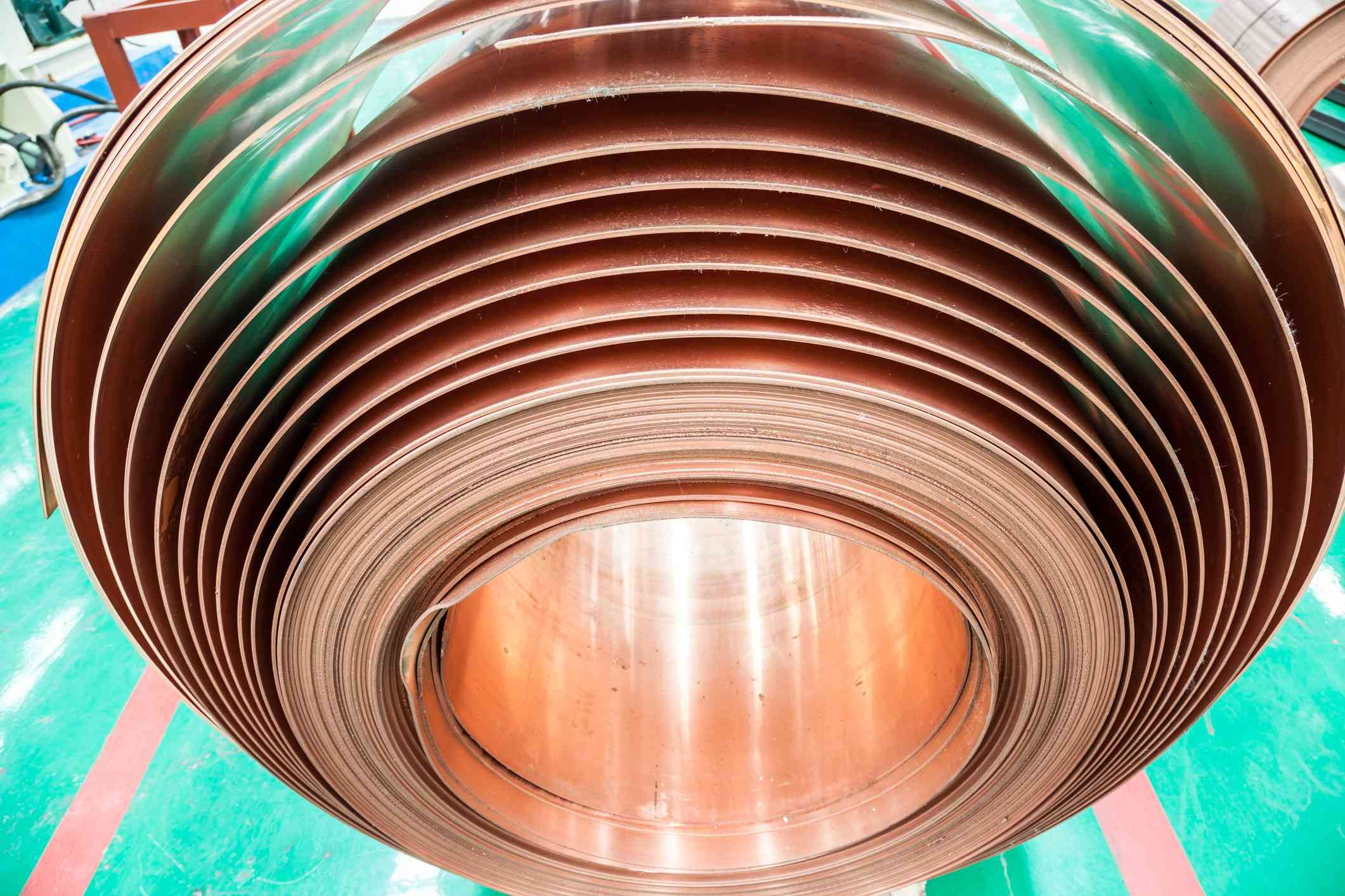 Copper reel