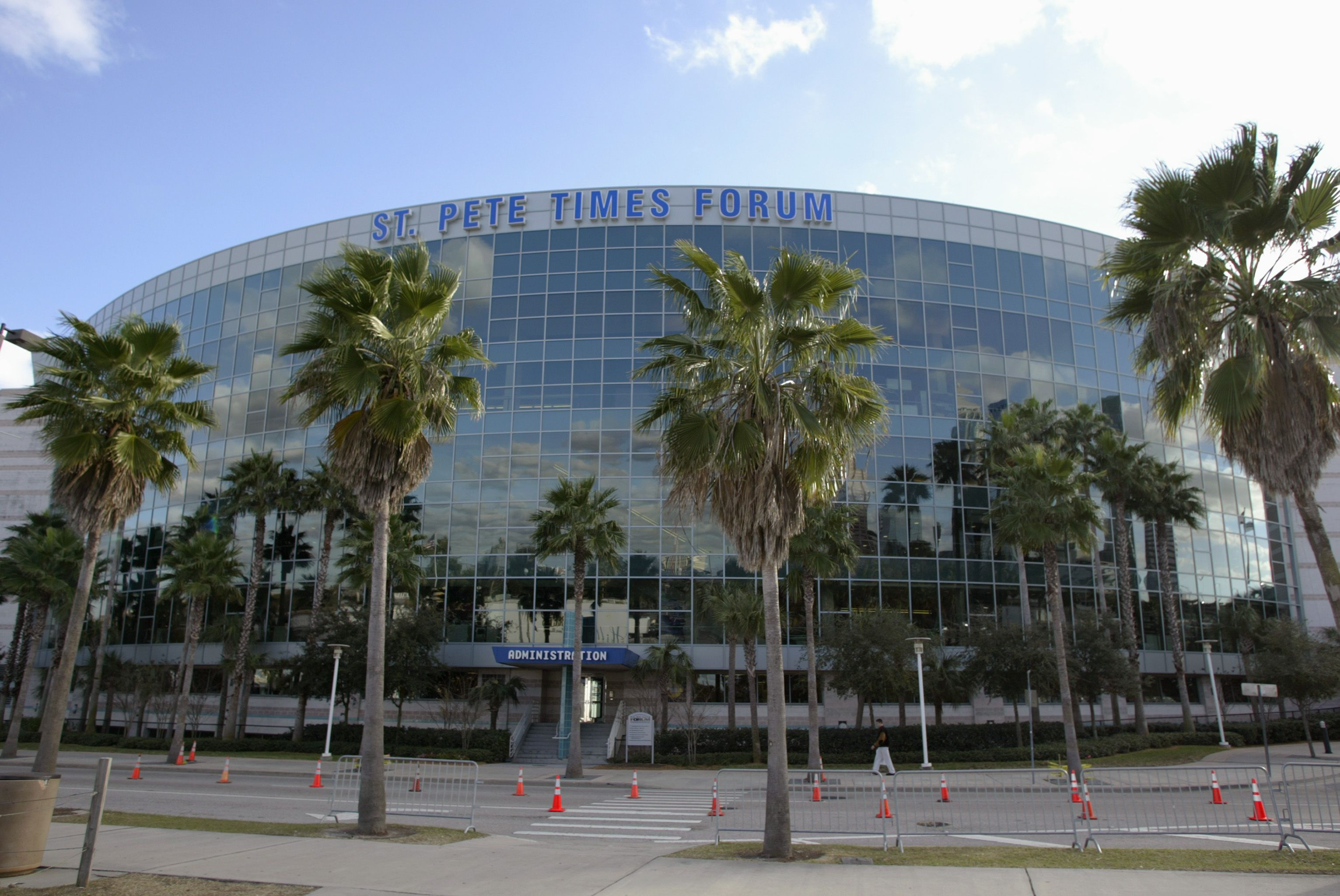 Amalie Arena When It Was Called St. Pete Times Forum, in Tampa, Florida