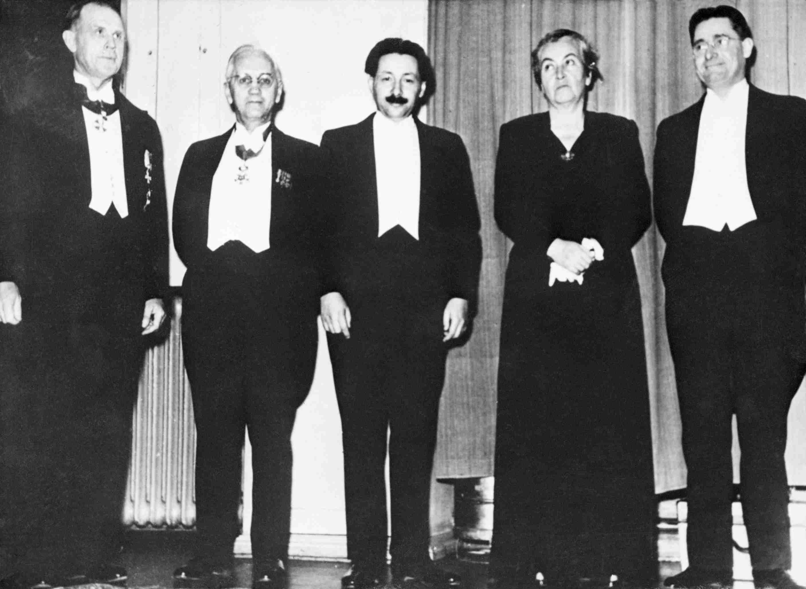 Nobel Prize Winners of 1945