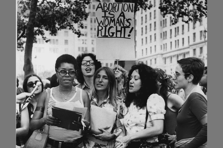 Members of the 1972 New York women's Liberation Army