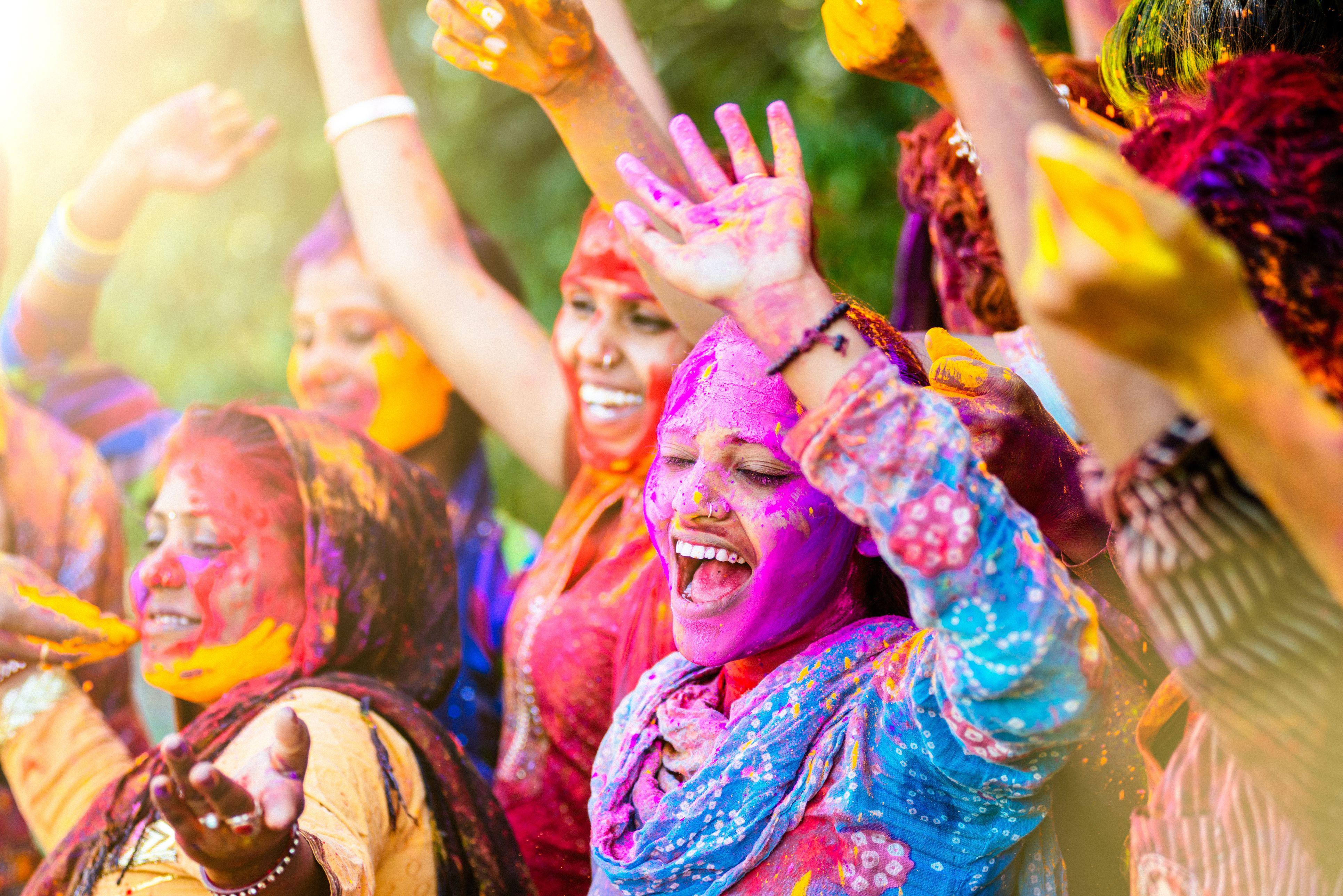 Calendar Holi : Future dates for the hindu holi festival
