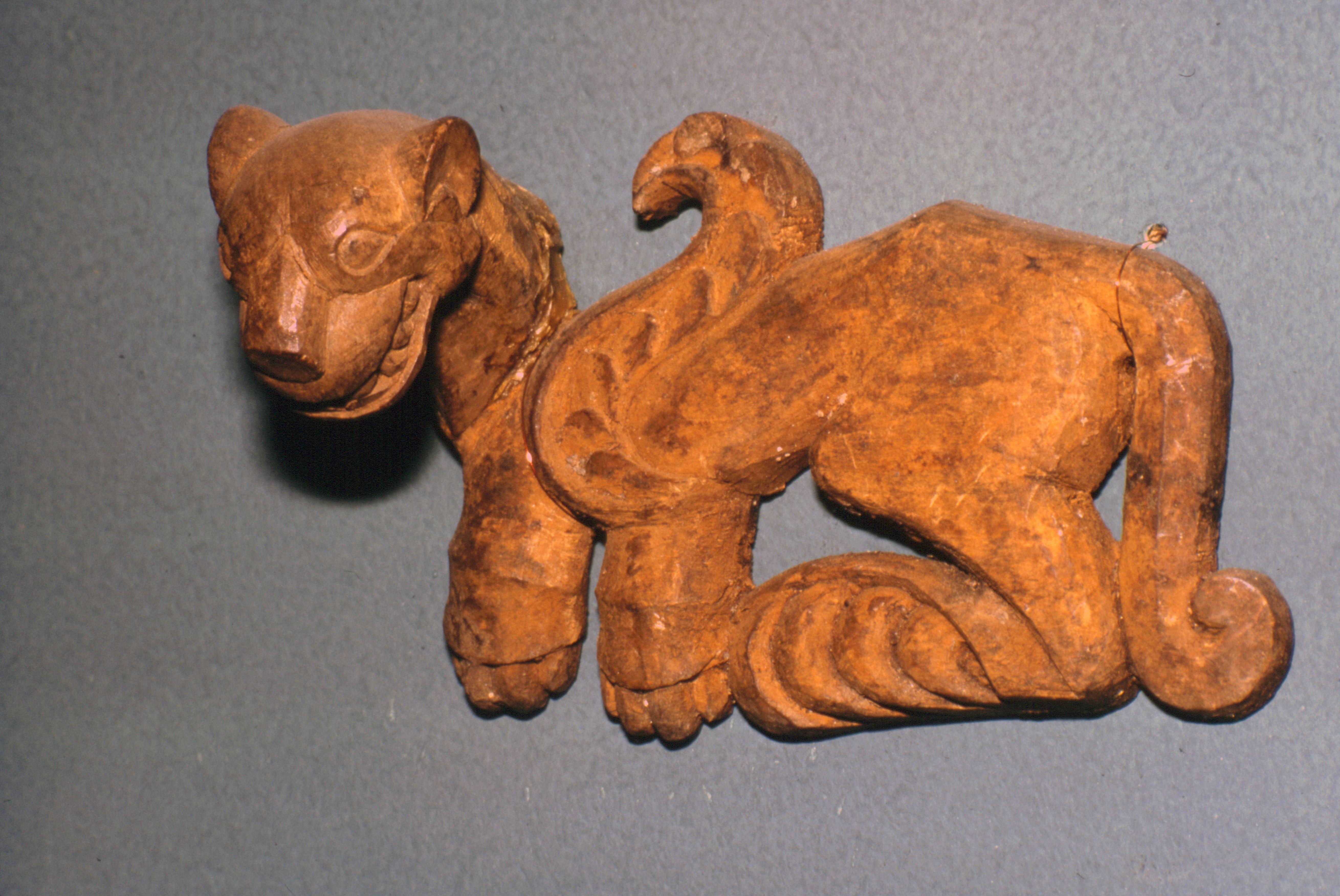 Scythian ξύλινο χαλινά στολίδι.  Καλλιτέχνης: Άγνωστος.