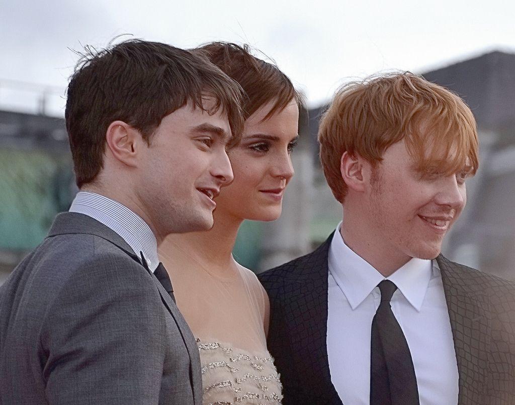 Daniel Radcliffe Emma Watson Rupert Grint colour 9125a4d7a62d4b4e8b14a27a5c2ab5cd