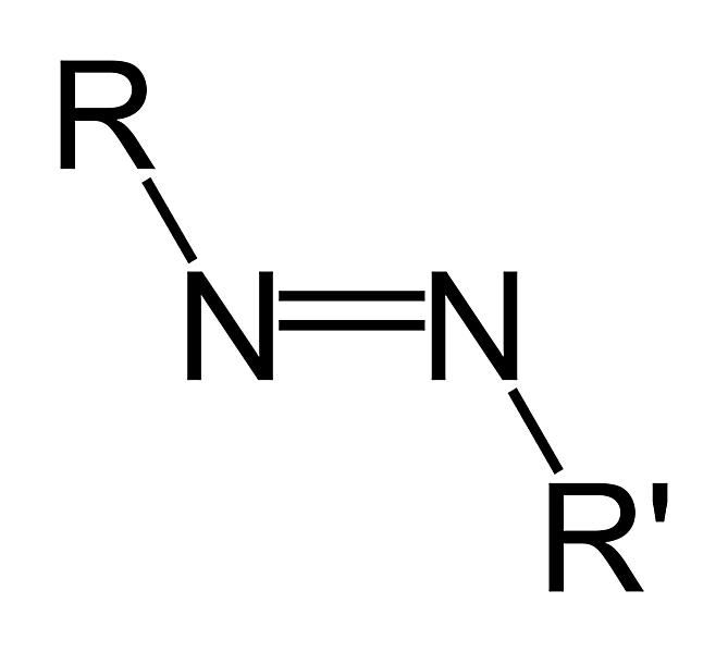 This is the structure of the azo or diimide functional group.