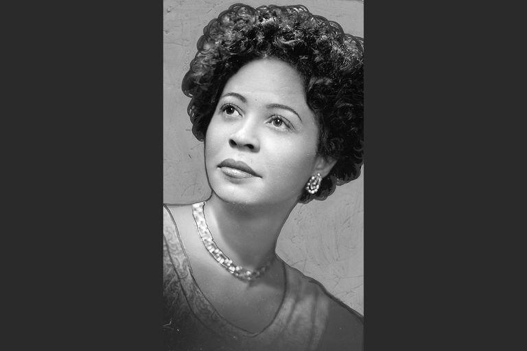 Portrait of Daisy Bates, 1957
