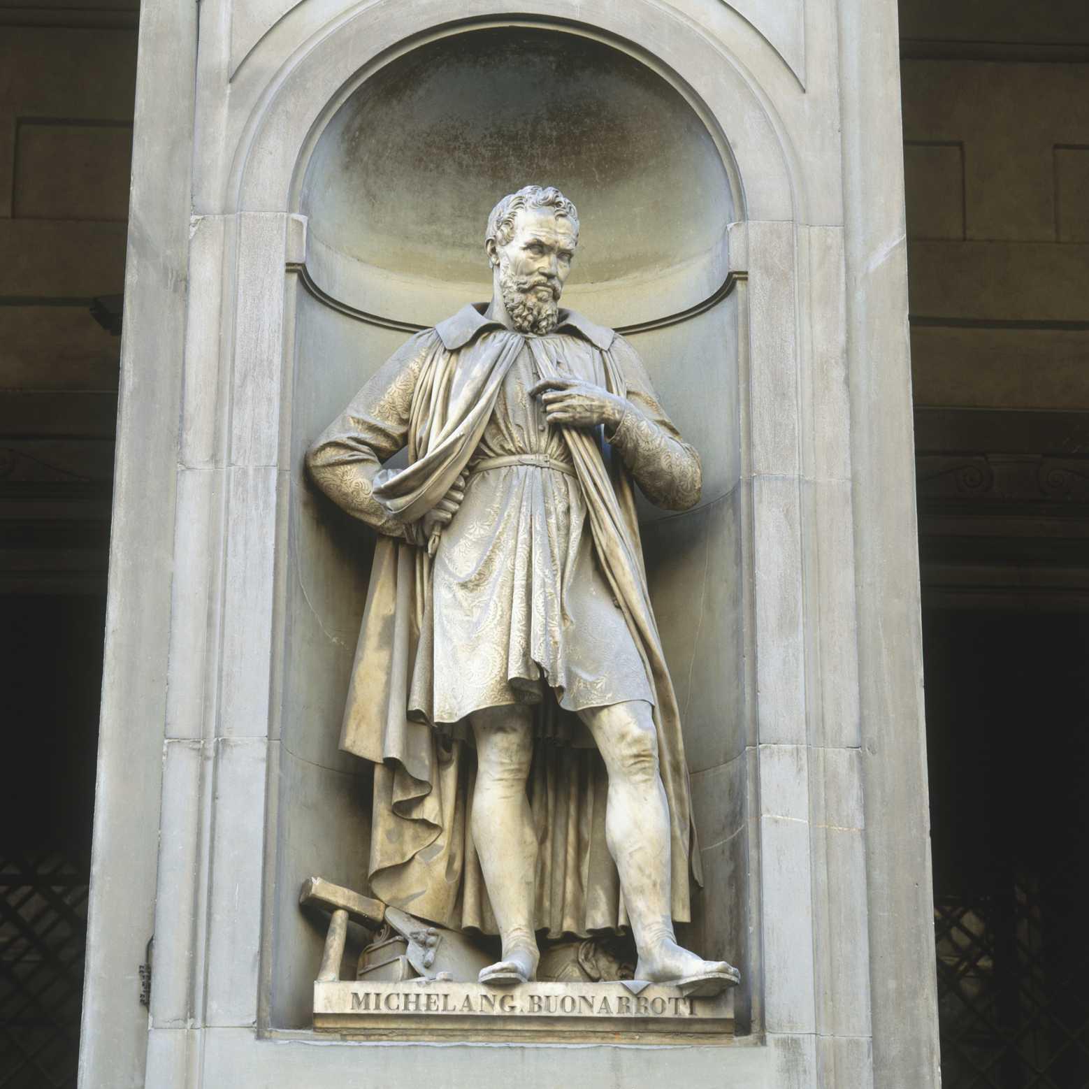 Michelangelo Statue