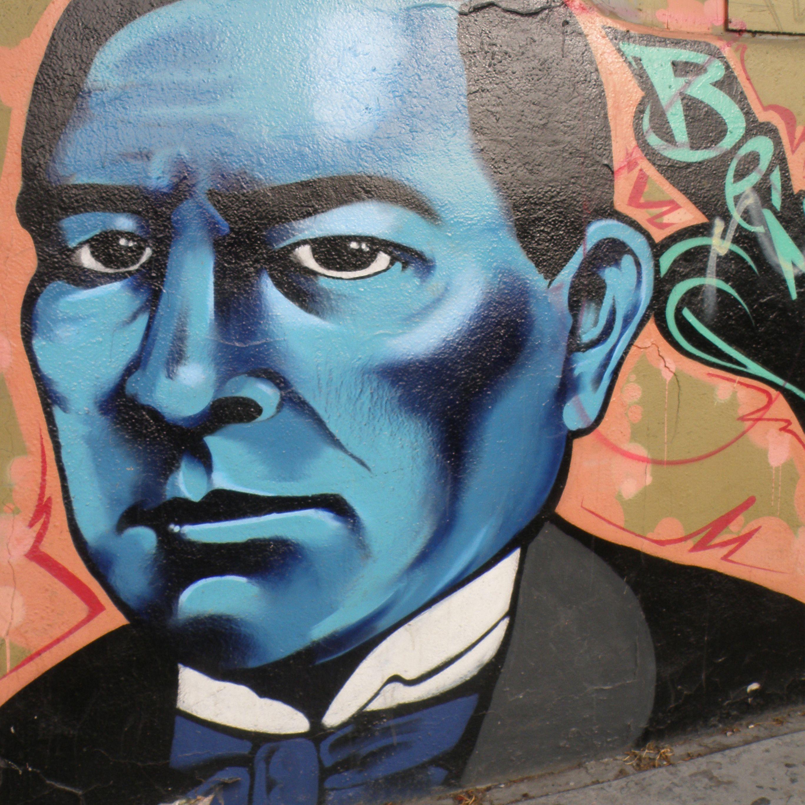 Τοιχογραφία Benito Juarez