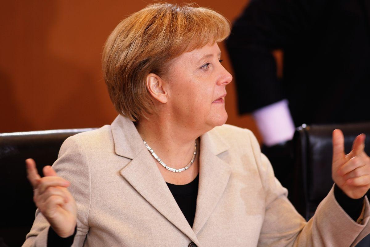 Angela Merkel German Chancellor December 2009