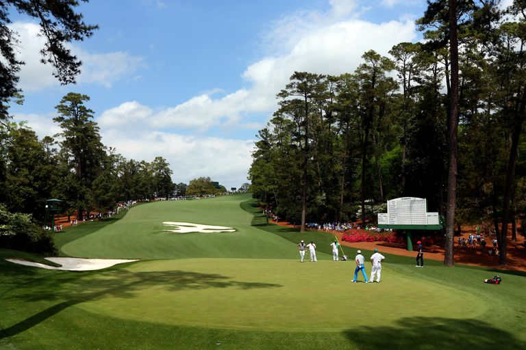 Augusta National 10th hole