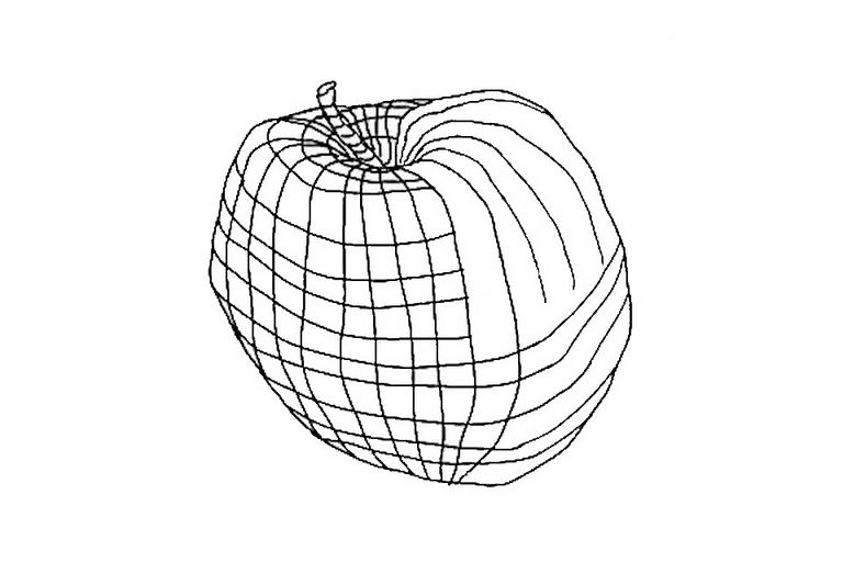 Contour Line Definition Art : An example of cross contours in two directions