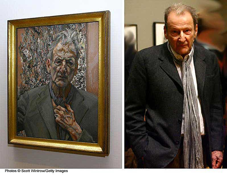 Lucian Freud Self Portrait Painting