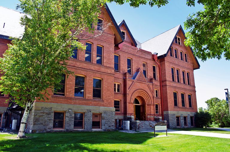 Montana State University's Montana Hall