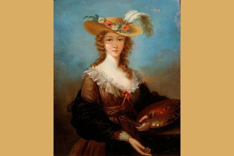 Vigee-LeBrun Self Portrait, 1782