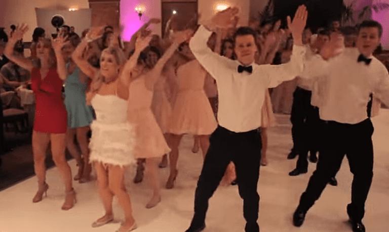Flash Mob Wedding Dance Kesha S Timber