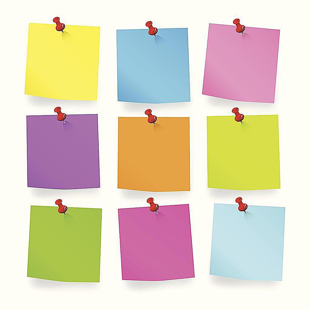 Chattstationer med post-it-anteckningar kan kombinera förståelse och grupparbete