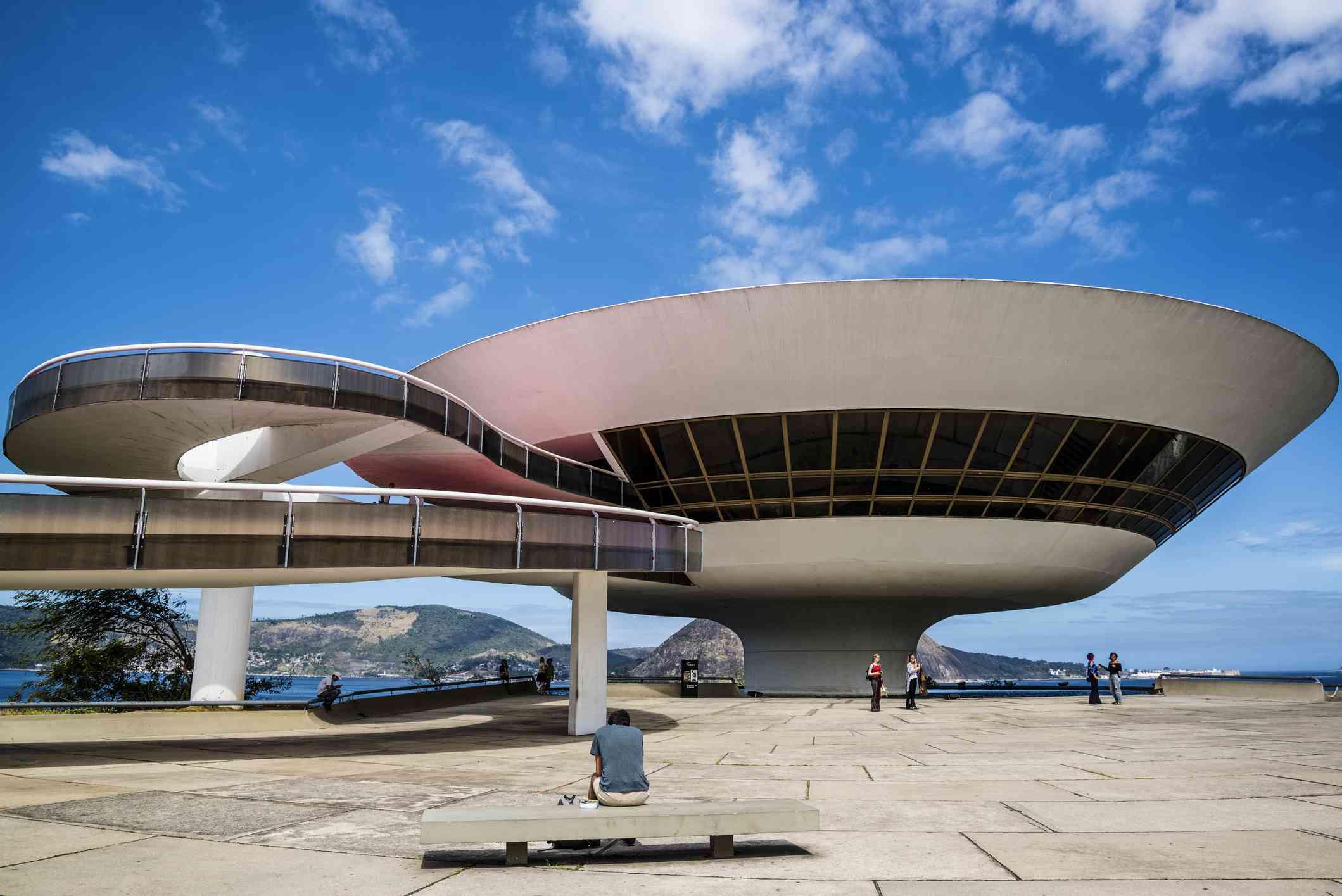 Niteroi Contemporary Art Museum, Brazil