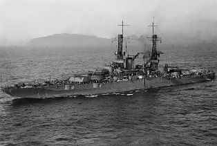 USS New Mexico (BB-40) after World War I