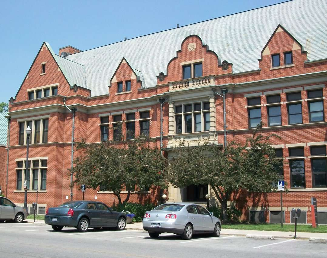 Enarson Hall and the Office of Undergraduate Admissions at the Ohio State University