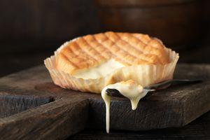 Melting cheese