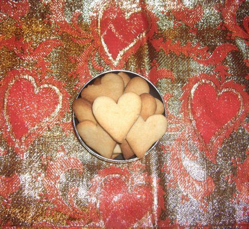 Prem Prashad Heart Shaped Cookie