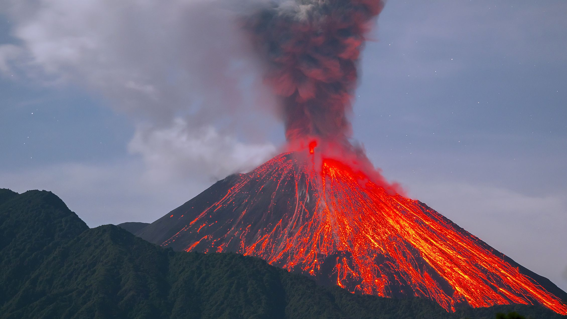 What Happens When a Volcano Erupts?