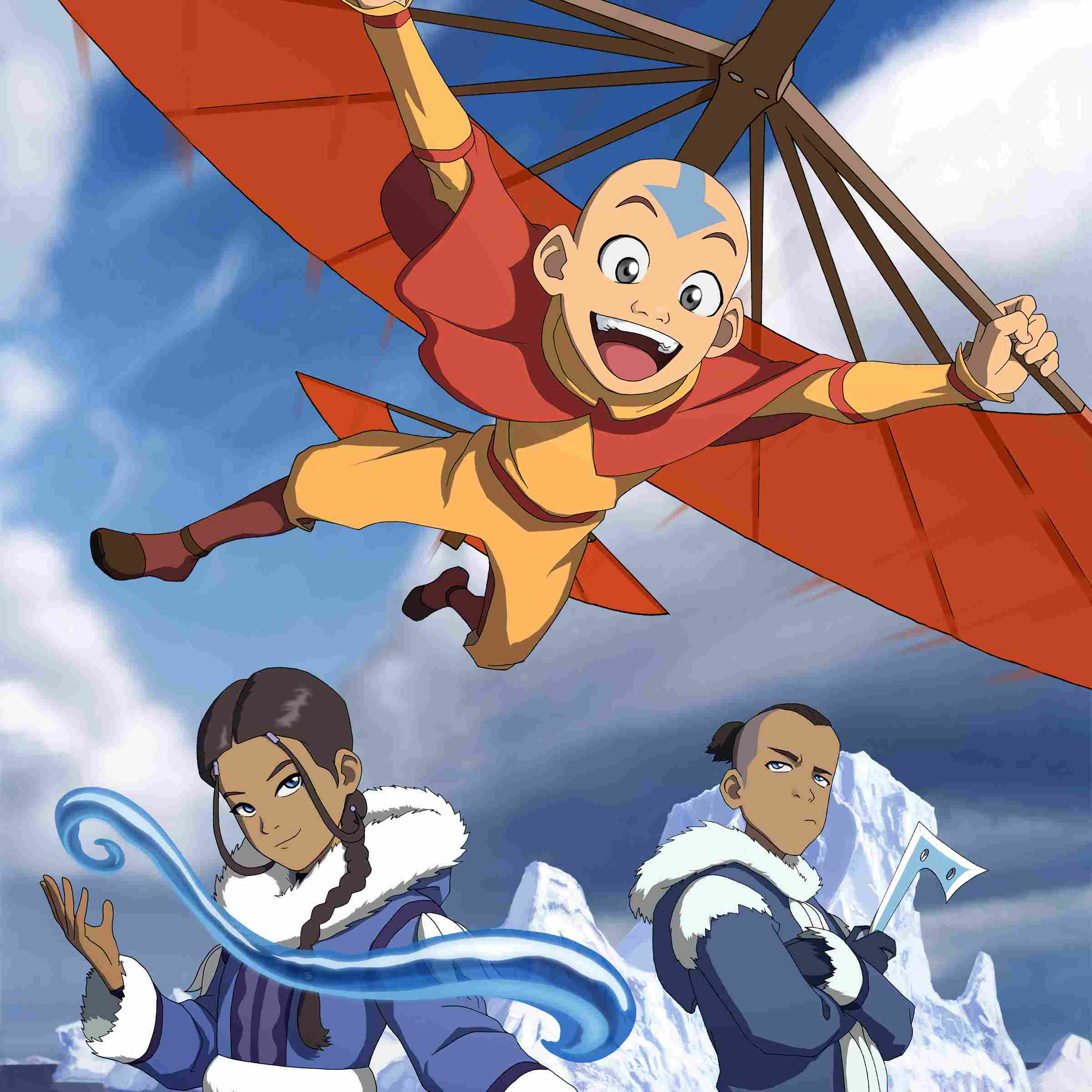 Avatar The Last Airbender Trio