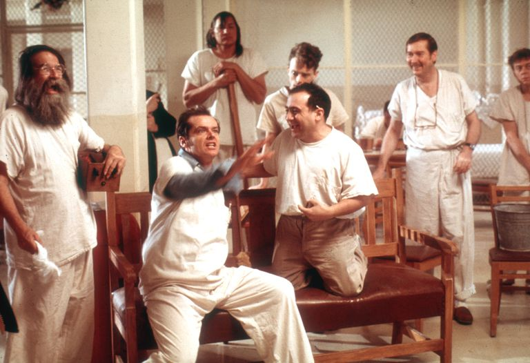 "Scene from ""One Flew Over The Cuckoo's Nest"" Produced By Fantasy Films - Released November 19, 1975"