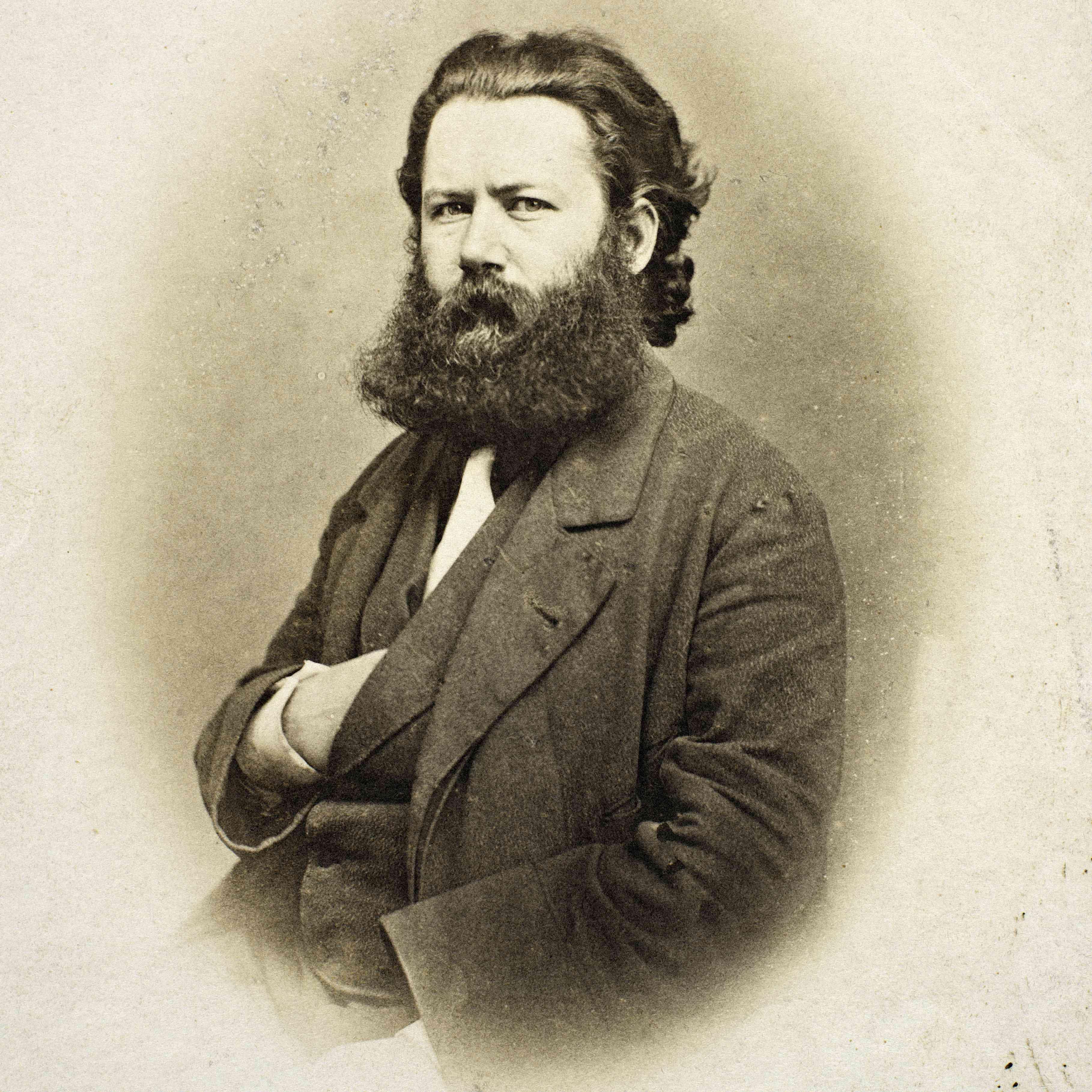 Retrato de Henrik Ibsen 1828-1906