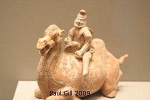 Bactrian Camel and Driver. Tang Dynasty. Minneapolis Institute of Arts.