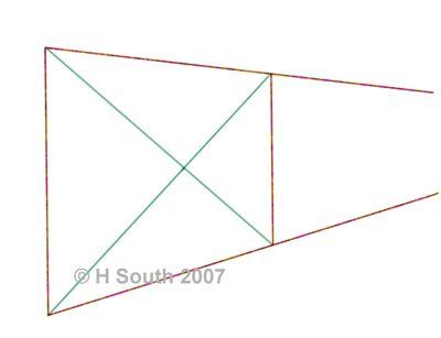understanding orthogonal and transversal line in art