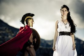spartan queen and warrior