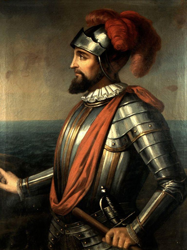 Vasco Núñez de Balboa potrait