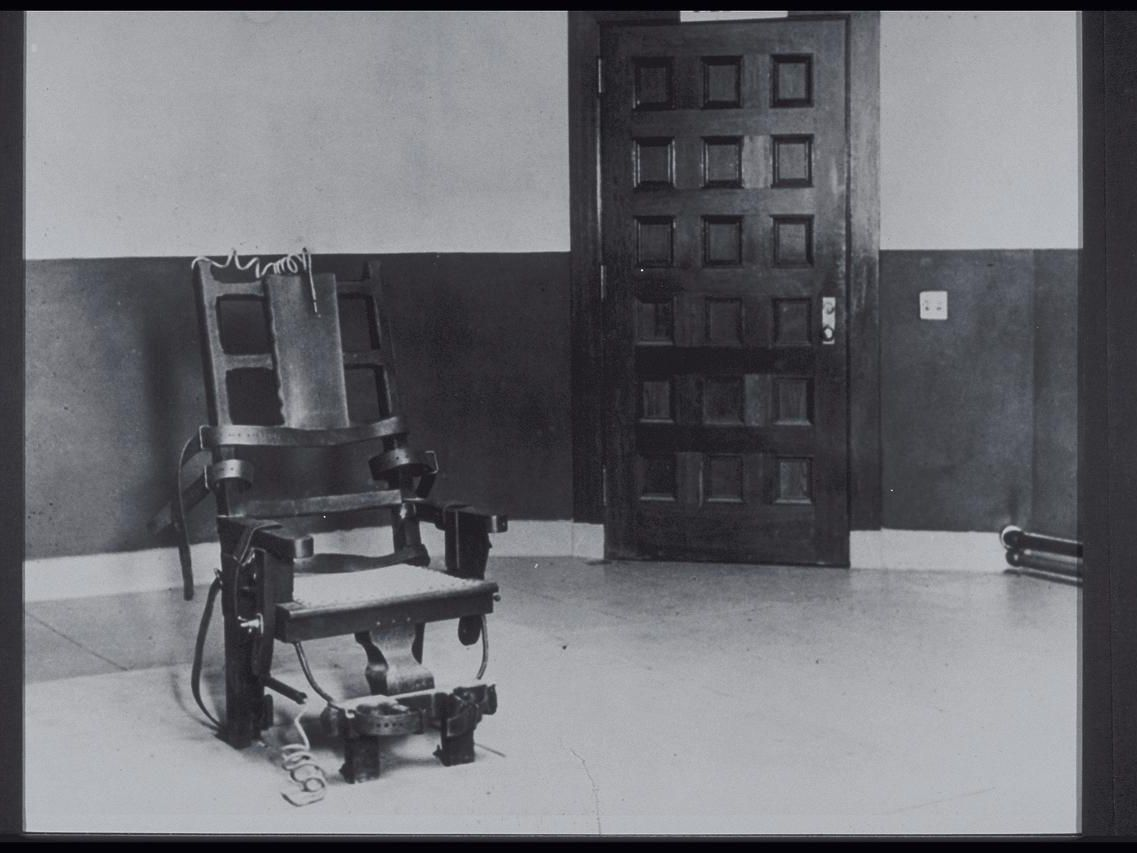 Death And Money The History Of The Electric Chair