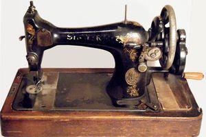 Old Singer Sewing Machine