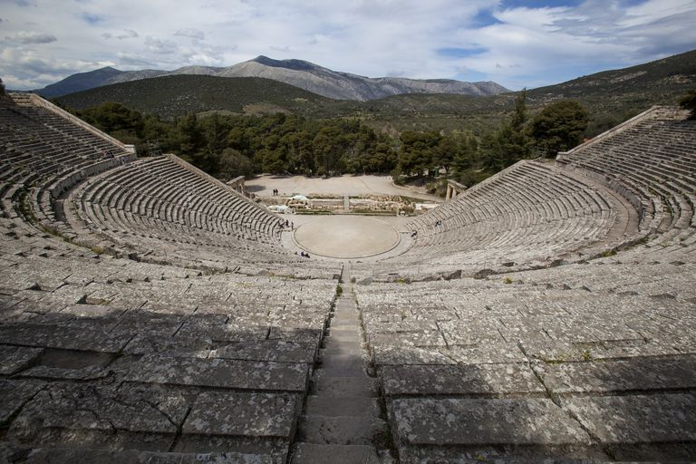 ancient greek theater satyr plays as the first comedy