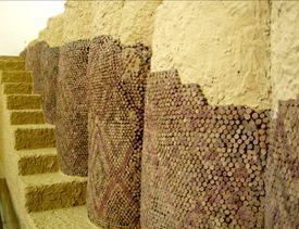 Cone Mosaic from Uruk at the Pergamon Museum in Berlin