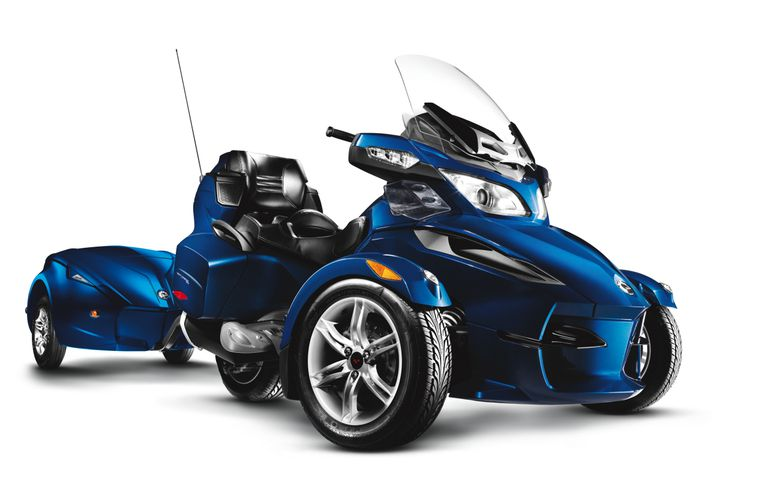 Review Of 2010 Brp Can Am Spyder Rt Touring Trike