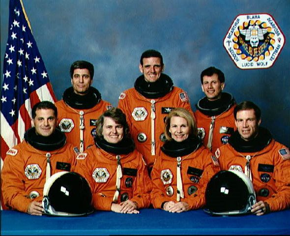 STS-58 Crew Portrait, 1993.