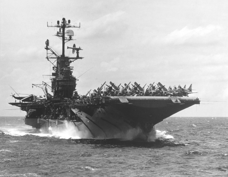 USS Intrepid during the Vietnam War