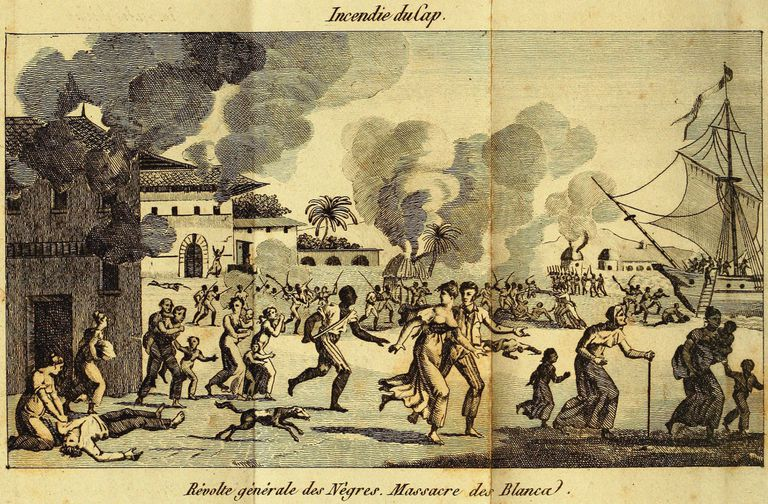 The Haitian revolution of enslaved Black people