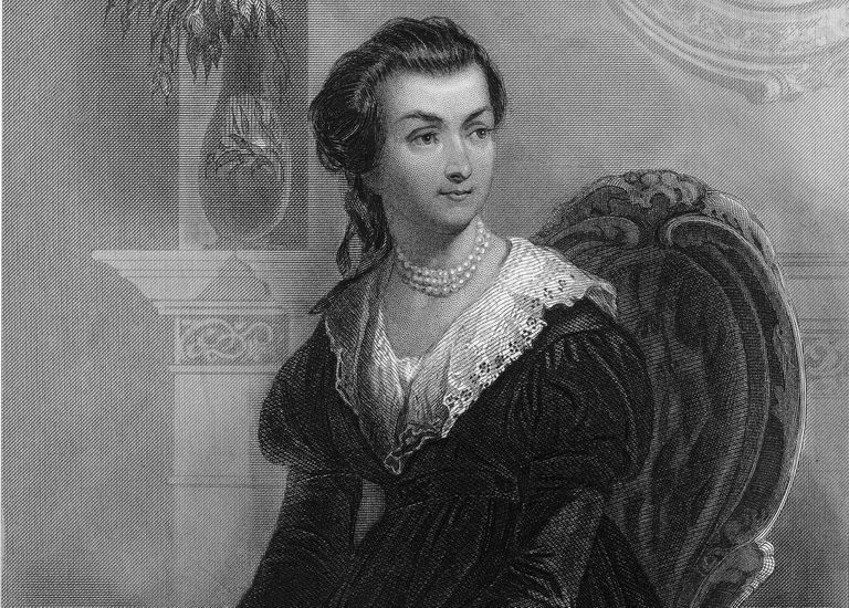 Engraved Portrait of Abigail Adams