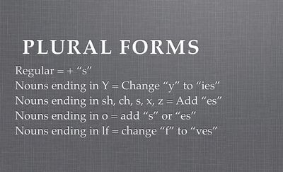 Plural Nouns: Definition and Examples