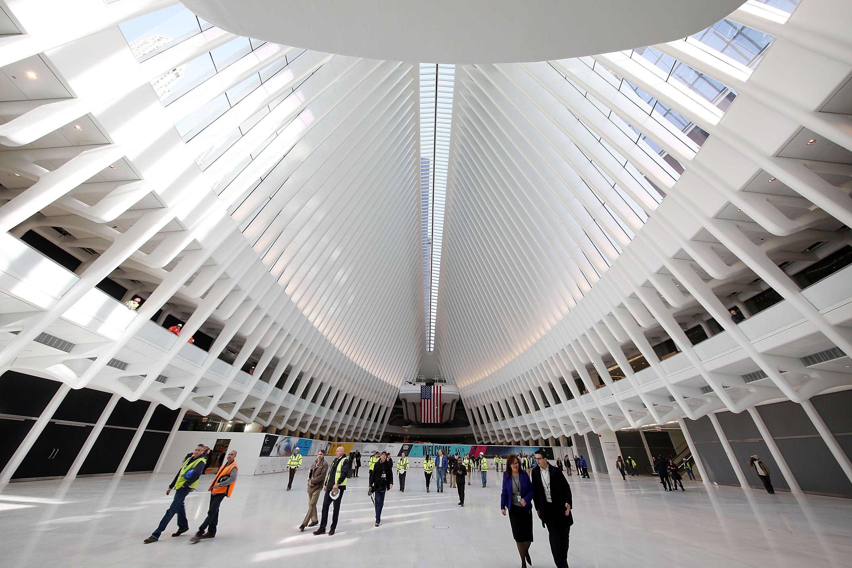 Santiago Calatrava S Transportation Hub At The Wtc