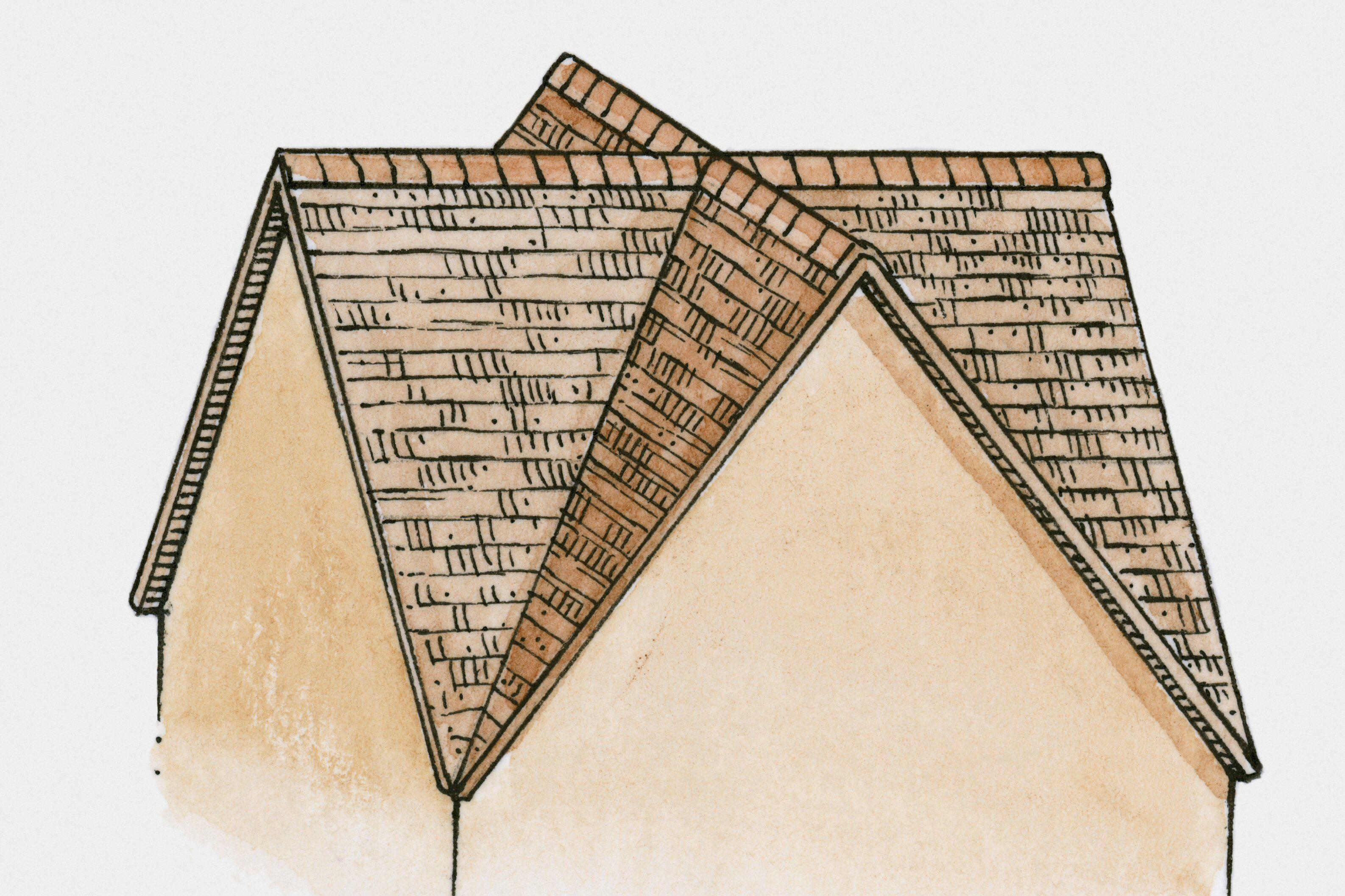 Tende Da Sole Tetto Spiovente il timpano - un triangolo di spiegazioni