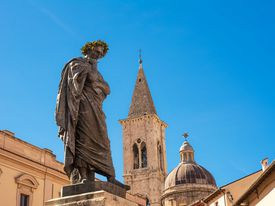 Statue of Ovid in Italy