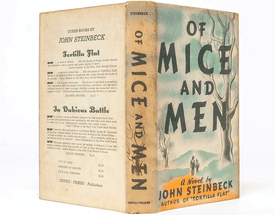 'Of Mice and Men' book cover