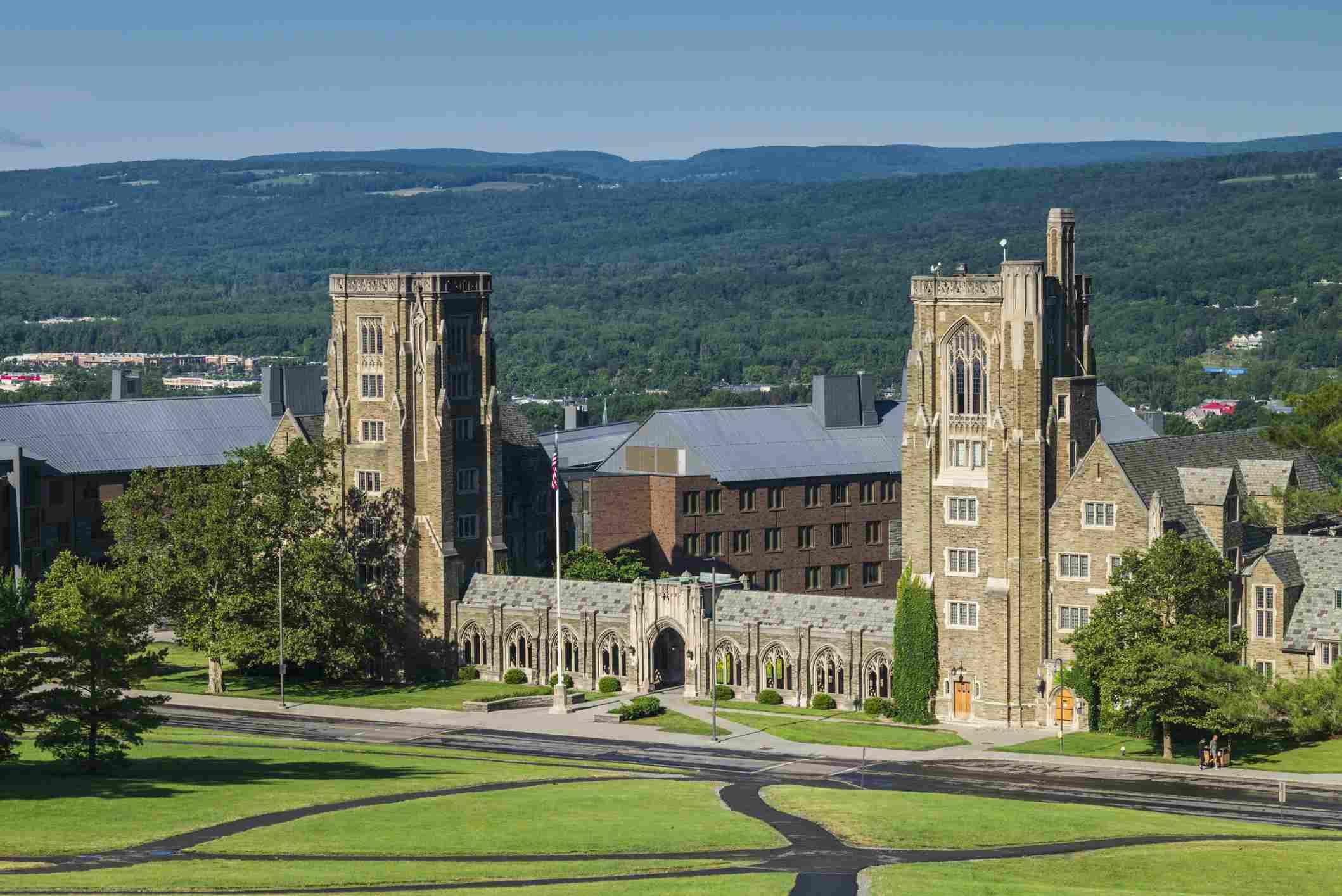 USA, New York, Ithaca, Cornell University