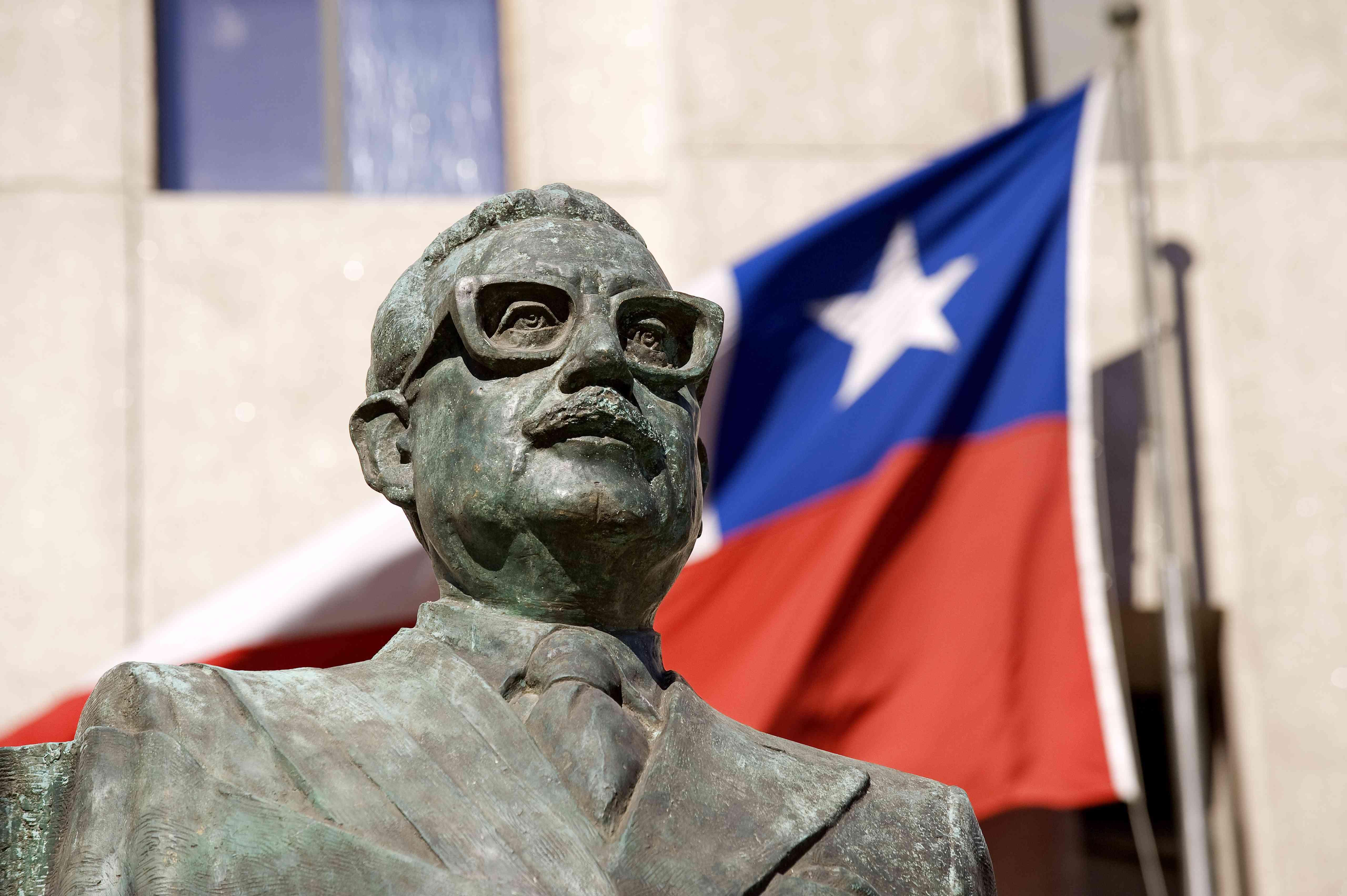 Statue of Salvador Allende